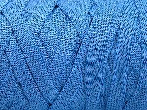 Contenido de fibra 100% Recycled Cotton, Light Blue, Brand Ice Yarns, Yarn Thickness 6 SuperBulky  Bulky, Roving, fnt2-60130