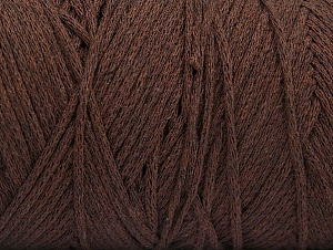Please be advised that yarn iade made of recycled cotton, and dye lot differences occur. Fiber Content 100% Cotton, Brand Ice Yarns, Dark Brown, Yarn Thickness 4 Medium  Worsted, Afghan, Aran, fnt2-60147