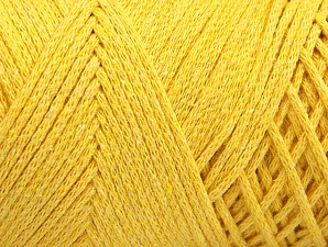 Please be advised that yarn iade made of recycled cotton, and dye lot differences occur. Fiber Content 100% Cotton, Yellow, Brand Ice Yarns, Yarn Thickness 4 Medium  Worsted, Afghan, Aran, fnt2-60166