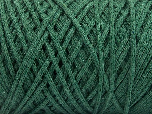 Please be advised that yarn iade made of recycled cotton, and dye lot differences occur. Fiber Content 100% Cotton, Brand Ice Yarns, Dark Green, Yarn Thickness 5 Bulky  Chunky, Craft, Rug, fnt2-60167
