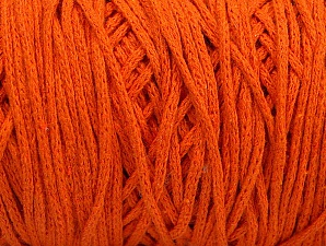 Please be advised that yarn iade made of recycled cotton, and dye lot differences occur. Fiber Content 100% Cotton, Orange, Brand Ice Yarns, Yarn Thickness 5 Bulky  Chunky, Craft, Rug, fnt2-60168