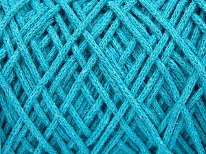 Please be advised that yarn iade made of recycled cotton, and dye lot differences occur. Fiber Content 100% Cotton, Turquoise, Brand Ice Yarns, Yarn Thickness 5 Bulky  Chunky, Craft, Rug, fnt2-60175