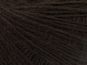 Fiber Content 50% Wool, 50% Acrylic, Brand Ice Yarns, Dark Brown, Yarn Thickness 2 Fine  Sport, Baby, fnt2-60180