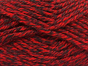 Fiber Content 100% Acrylic, Red, Brand Ice Yarns, Black, Yarn Thickness 6 SuperBulky  Bulky, Roving, fnt2-60218
