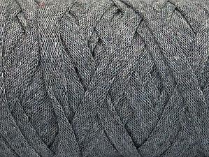 Contenido de fibra 100% Recycled Cotton, Brand Ice Yarns, Grey, Yarn Thickness 6 SuperBulky  Bulky, Roving, fnt2-60398
