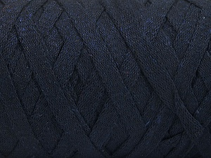 Contenido de fibra 100% Recycled Cotton, Brand Ice Yarns, Dark Navy, Yarn Thickness 6 SuperBulky  Bulky, Roving, fnt2-60399
