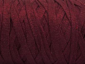 Contenido de fibra 100% Recycled Cotton, Maroon, Brand Ice Yarns, Yarn Thickness 6 SuperBulky  Bulky, Roving, fnt2-60400