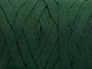 Contenido de fibra 100% Recycled Cotton, Brand Ice Yarns, Dark Green, Yarn Thickness 6 SuperBulky  Bulky, Roving, fnt2-60401