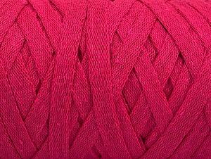 Contenido de fibra 100% Recycled Cotton, Brand Ice Yarns, Fuchsia, Yarn Thickness 6 SuperBulky  Bulky, Roving, fnt2-60403