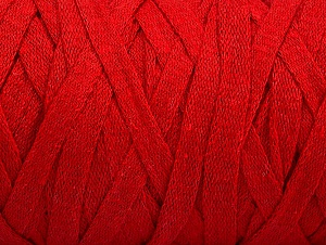 Contenido de fibra 100% Recycled Cotton, Red, Brand Ice Yarns, Yarn Thickness 6 SuperBulky  Bulky, Roving, fnt2-60406
