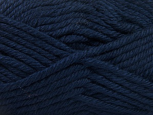 Fiber Content 100% Acrylic, Navy, Brand Ice Yarns, Yarn Thickness 6 SuperBulky  Bulky, Roving, fnt2-60449