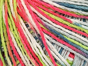 Fiber Content 100% Acrylic, White, Neon Pink, Neon Green, Jeans Blue, Brand Ice Yarns, Grey, Yarn Thickness 2 Fine  Sport, Baby, fnt2-60468