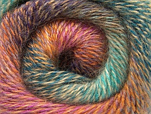 Fiber Content 75% Premium Acrylic, 15% Wool, 10% Mohair, Turquoise, Purple, Pink, Mint Green, Brand ICE, Gold, Yarn Thickness 2 Fine  Sport, Baby, fnt2-61010