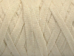 Contenido de fibra 100% Recycled Cotton, Brand Ice Yarns, Ecru, Yarn Thickness 6 SuperBulky  Bulky, Roving, fnt2-61086