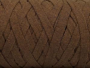Contenido de fibra 100% Recycled Cotton, Brand Ice Yarns, Brown, Yarn Thickness 6 SuperBulky  Bulky, Roving, fnt2-61087