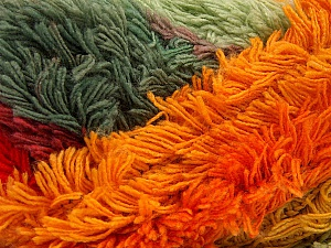 Fiber Content 95% Acrylic, 5% Polyester, Red, Orchid, Orange, Brand Ice Yarns, Grey Shades, Yarn Thickness 6 SuperBulky  Bulky, Roving, fnt2-61127