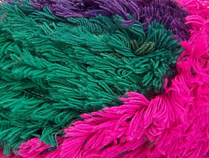 Fiber Content 95% Acrylic, 5% Polyester, Purple, Pink, Lilac, Khaki, Brand Ice Yarns, Green, Yarn Thickness 6 SuperBulky  Bulky, Roving, fnt2-61129