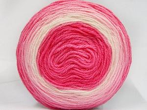 Fiber Content 100% Premium Acrylic, Pink Shades, Brand Ice Yarns, Yarn Thickness 2 Fine  Sport, Baby, fnt2-61149