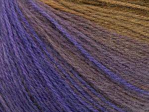 Fiber Content 60% Acrylic, 20% Wool, 20% Angora, Purple, Lilac Shades, Brand Ice Yarns, Brown Shades, Yarn Thickness 2 Fine  Sport, Baby, fnt2-61196