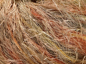 Fiber Content 100% Polyester, Yellow, Orange, Brand Ice Yarns, Cream, Camel, Yarn Thickness 5 Bulky  Chunky, Craft, Rug, fnt2-61345