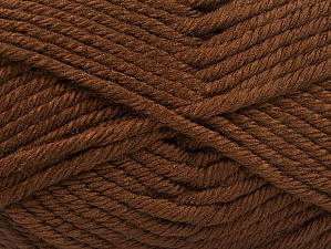 Fiber Content 100% Acrylic, Brand Ice Yarns, Brown, Yarn Thickness 6 SuperBulky  Bulky, Roving, fnt2-61356