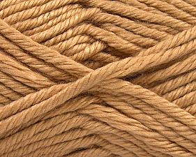 Fiber Content 100% Acrylic, Brand Ice Yarns, Cafe Latte, Yarn Thickness 6 SuperBulky  Bulky, Roving, fnt2-61358