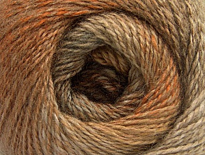 Fiber Content 75% Premium Acrylic, 15% Wool, 10% Mohair, Brand ICE, Gold, Camel, Beige, Yarn Thickness 2 Fine  Sport, Baby, fnt2-61376