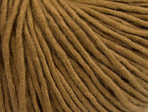 Fiber Content 100% Acrylic, Light Camel, Brand Ice Yarns, Yarn Thickness 4 Medium  Worsted, Afghan, Aran, fnt2-62534