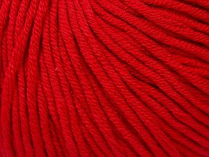 Fiber Content 50% Cotton, 50% Acrylic, Brand Ice Yarns, Dark Red, Yarn Thickness 3 Light  DK, Light, Worsted, fnt2-62741