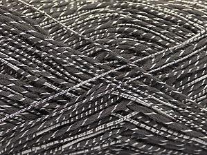 Fiber Content 65% Acrylic, 35% Viscose, Brand Ice Yarns, Dark Grey, Yarn Thickness 2 Fine  Sport, Baby, fnt2-62758