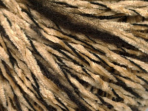 Fiber Content 85% Acrylic, 15% Wool, Brand Ice Yarns, Dark Brown, Cafe Latte, Black, Yarn Thickness 4 Medium  Worsted, Afghan, Aran, fnt2-62964