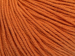 Fiber Content 60% Cotton, 40% Acrylic, Brand Ice Yarns, Copper, Yarn Thickness 2 Fine  Sport, Baby, fnt2-62996