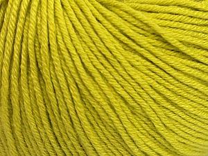 Fiber Content 60% Cotton, 40% Acrylic, Light Olive Green, Brand Ice Yarns, Yarn Thickness 2 Fine  Sport, Baby, fnt2-63005