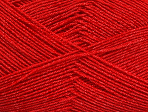 Fiber Content 55% Cotton, 45% Acrylic, Red, Brand Ice Yarns, Yarn Thickness 1 SuperFine  Sock, Fingering, Baby, fnt2-63112