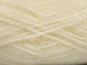 SuperBulky  Fiber Content 70% Acrylic, 30% Angora, Brand Ice Yarns, Cream, Yarn Thickness 6 SuperBulky  Bulky, Roving, fnt2-63123