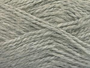 SuperBulky  Fiber Content 70% Acrylic, 30% Angora, Light Grey, Brand Ice Yarns, Yarn Thickness 6 SuperBulky  Bulky, Roving, fnt2-63125