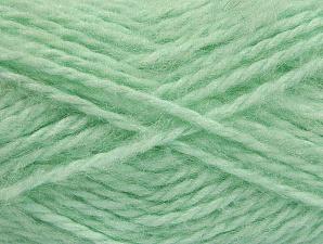 SuperBulky  Fiber Content 70% Acrylic, 30% Angora, Mint Green, Brand Ice Yarns, Yarn Thickness 6 SuperBulky  Bulky, Roving, fnt2-63130