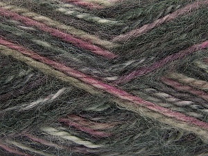 SuperBulky  Fiber Content 70% Acrylic, 30% Angora, Purple, Pink, Brand Ice Yarns, Grey, Yarn Thickness 6 SuperBulky  Bulky, Roving, fnt2-63136