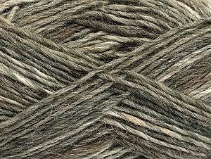 Fiberinnehåll 60% Ull, 40% Akryl, Brand Ice Yarns, Brown Shades, fnt2-63158