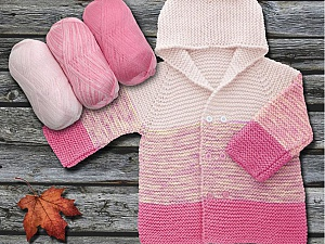 Fiber Content 100% Antipilling Acrylic, Pink, Light Pink, Brand Ice Yarns, Yarn Thickness 4 Medium  Worsted, Afghan, Aran, fnt2-63238