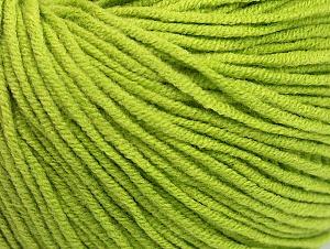 Fiber Content 50% Acrylic, 50% Cotton, Light Green, Brand Ice Yarns, Yarn Thickness 3 Light  DK, Light, Worsted, fnt2-63343