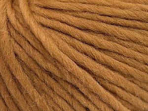 Fiber Content 100% Wool, Light Brown, Brand Ice Yarns, Yarn Thickness 5 Bulky  Chunky, Craft, Rug, fnt2-63346