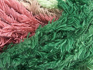 Fiber Content 95% Acrylic, 5% Polyester, Orchid, Maroon, Lilac, Brand Ice Yarns, Green Shades, Yarn Thickness 6 SuperBulky  Bulky, Roving, fnt2-63391