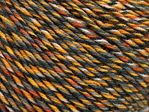Fiber Content 55% Cotton, 45% Acrylic, Yellow Shades, White, Brand Ice Yarns, Grey Shades, Yarn Thickness 3 Light  DK, Light, Worsted, fnt2-63409