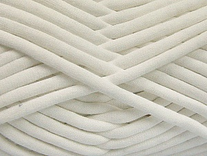 Fiber Content 60% Polyamide, 40% Cotton, White, Brand Ice Yarns, Yarn Thickness 6 SuperBulky  Bulky, Roving, fnt2-63417