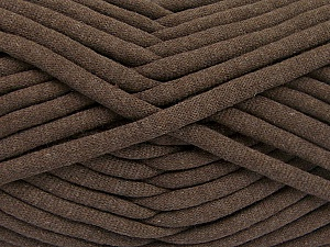 Fiber Content 60% Polyamide, 40% Cotton, Brand Ice Yarns, Dark Brown, Yarn Thickness 6 SuperBulky  Bulky, Roving, fnt2-63421