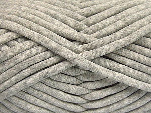 Fiber Content 60% Polyamide, 40% Cotton, Light Grey, Brand Ice Yarns, Yarn Thickness 6 SuperBulky  Bulky, Roving, fnt2-63424