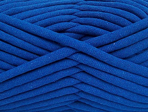 Fiber Content 60% Polyamide, 40% Cotton, Brand Ice Yarns, Blue, Yarn Thickness 6 SuperBulky  Bulky, Roving, fnt2-63429