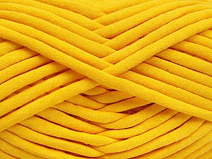 Fiber Content 60% Polyamide, 40% Cotton, Yellow, Brand Ice Yarns, Yarn Thickness 6 SuperBulky  Bulky, Roving, fnt2-63435