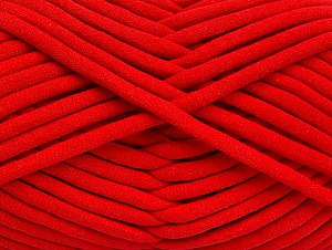 Fiber Content 60% Polyamide, 40% Cotton, Red, Brand Ice Yarns, Yarn Thickness 6 SuperBulky  Bulky, Roving, fnt2-63436